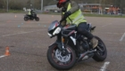 stage moto anti pilote de ligne droite speed triple
