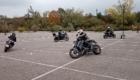 moto gymkhana anti pilote de ligne droite