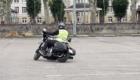 stage moto anti pilote de ligne droite Harley