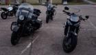moto pendant stage moto anti pilote de ligne droite