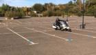 moto gymkhana anti pilote de ligne droite BMW