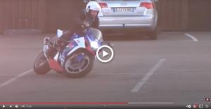 vidéo gsxr1000 Moto Gymkhana
