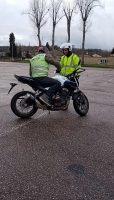 stage moto anti pilote de ligne droite