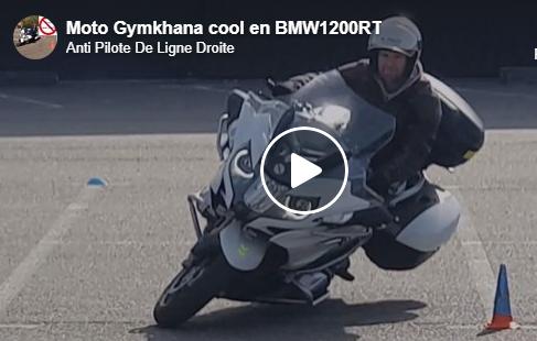 vidéo Moto Gymkhana BMW